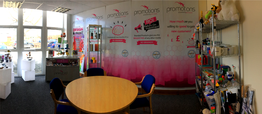 Pink Lizard Promotion's Meeting Room